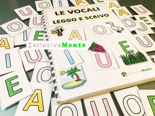 Le vocali- leggo e scrivo
